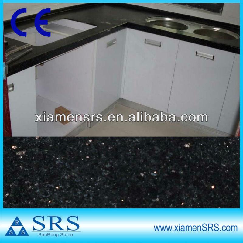 Black Granite Kitchen Table Top View Black Granite Kitchen Table