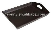 Plain design dinner serving tray