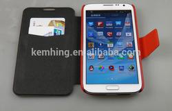 Flip cover for Samsung Galaxy Note2 N7100 flip wallet case