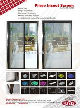 Aluminum Insect Screen Plisse Door