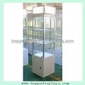 Twd-30 acrílico e mdf e alumínio para 4 face de vidro stand