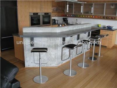 cuisine de la maison moderne comptoir de bar design table