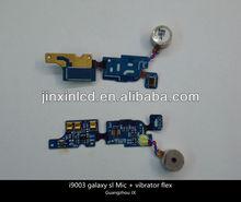 Spare parts for samsung i9003 galaxy sl mic with vibrator flex