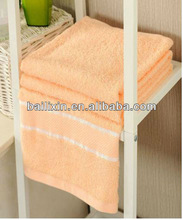 bright colored organic cotton bath towel