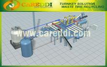 Turnkey Solution Waste Tyre pyrolysis plant