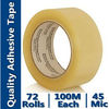 Bopp Yellowish Packaging Tape (BOPP Film Water-based Acrylic)