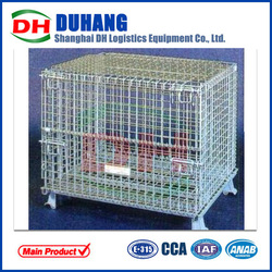 steel cage container storage wire container animal cage
