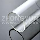Small size clear plexiglass tube