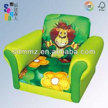 2013 new design!! Kid Fabric Sofa with 'Jungle' Design