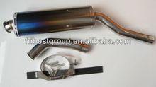 titanium muffler for CBR1000RR 04 05 universal muffler pipe