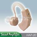 Personal sound amplificador para ouvindo surdos