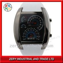 R36W 2013 fashion Pu band alloy case army style led watch army wrist watch
