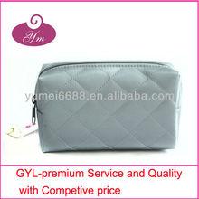 2013 quited grey weekender cosmetic bag