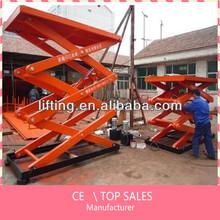 hot dip galvanized hydraulic electric scissor lift platform