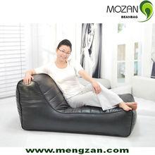 relaxing beanbag lounger seat, lazy bean bag set, back support reading bean bag chair