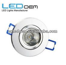 Mini 1w led ceiling lamp,led downlight