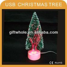 USB Fiber christmas MINI tree