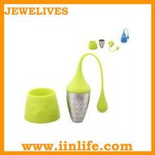 2013 Cute shape and good design silicone tea infuser