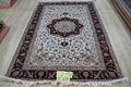 السجاد الفارسي اليدوي تصميم الحرير الكشميري