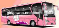 12M 55 seater DAEWOO Luxury Passenger Bus(GDW6121HK8-1)