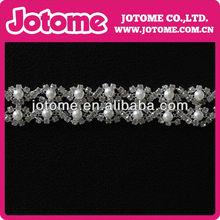 2013 new design rhinestone chain beautiful rhinestone trimming for clothing