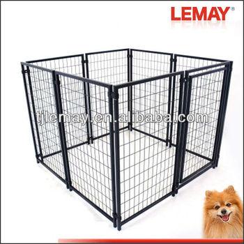 5x5x4 foot portable modular panels dog kennel