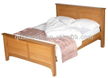 wooden double bed frame / double bedroom furniture designs(PRO13)