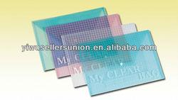 fashion silk-screen printing pp document bag
