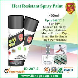 Heat Resistant Spray Paint 800 Degrees Spray Paint (pintura en aerosol,pintura spray)