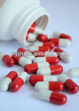 vegetable HPMC cellulose empty capsule in white and red