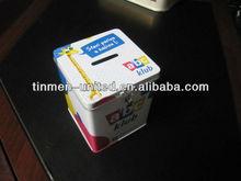 Money Saving Tin Boxes