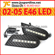02-05 E46 LED DRL Car-Specific Daytime Running Lights for BMW