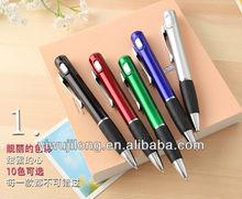 2014 novel led light ballpoint pen for promotion
