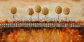 moderna hecha a mano paisaje pintura al óleo sobre lienzo
