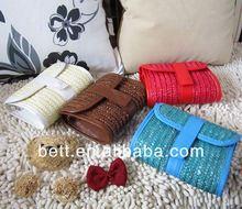 fashion corn husk straw bag