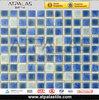 blue mix white matt glaze and crystal flower ceramic tiles