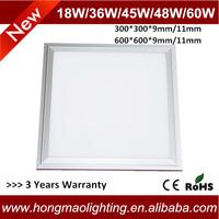 9mm Slim 600*600 Square led spectra panel light 36w