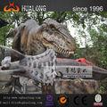 6m longo de simulação de fibra de vidro tamanho real do dinossauro