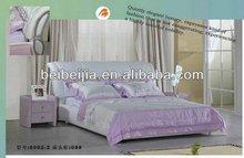 modern soft queen pink bed 8002#