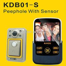 KiVOS KDB01-S door accessories peep holes for doors entry door viewer