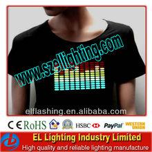 hot and popular sound control EL T-shirt