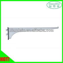 Metal shelf support bracket