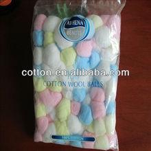 colored cotton balls100pcs