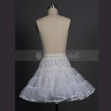 P1579 Hot Sale Puffy Ruffles Short Petticoat