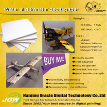 A4 water slide Decal transfer paper,175g same as UK