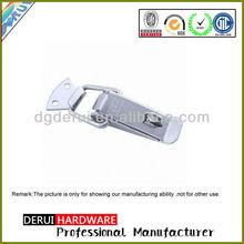 Security Zinc plated Stamping Stainless steel door hasp