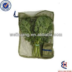 Fruit reusable small drawstring mesh bag