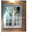 عالية الجودة البلاستيكية نافذة الشواية الزجاج المزدوج مع أحدث تصميم