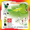 Unique plastic golf tee golf ball