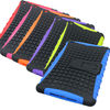 for ipad mini combo case,tpu and pc case for ipad mini